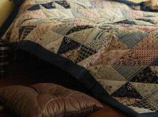 Castle Garden IK**民族碎花手工车缝被床盖三件套 新尺寸有变,床品,