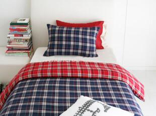 【Asa room】韩国进口代购床上用品 可爱格子纹被套四件套 c861,床品,