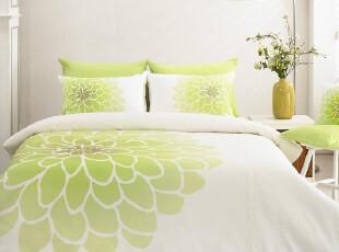 『韩国进口家居』R314  超级漂亮大花朵床品套件 两色可选,床品,
