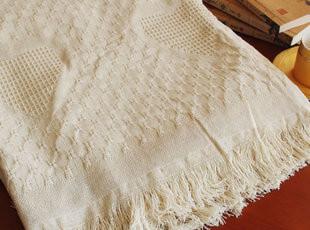 外贸高品质纯棉床单 夏天的粗布凉席 盖毯子限时特价包邮,床品,