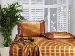 简舜家纺 席子/凉席/双人席 爱在米兰藤席1.5 1.8米 夏季新品B026,床品,