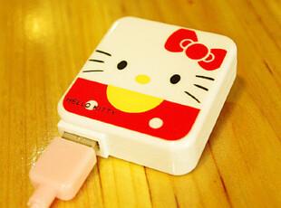 Hello Kitty iphone4/4s/ipad AC充电器 卡通usb电源 数据线 手机,手机壳,