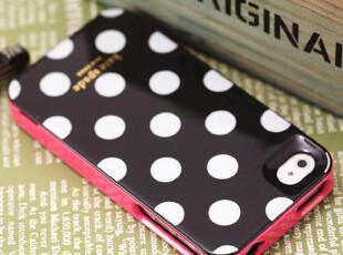 情侣波点 iphone4手机壳 苹果4s手机壳 正品 手机套 保护外壳 潮,手机壳,