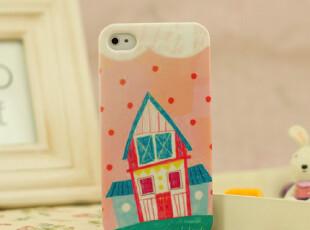韩版时尚苹果iPhone4s手机壳卡通壳子iPhone4外壳保护套配件,手机壳,