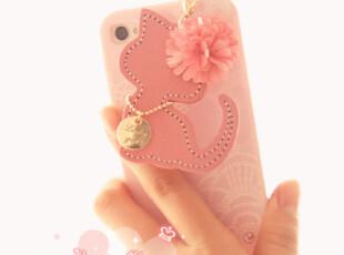 韩国进口 ♥仿皮质雏菊小猫♥ 挂件式iphone/苹果HTC通用防尘塞,手机壳,