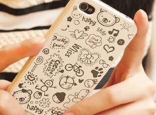 新潮 小魔女外壳 iphone4手机壳 iphone4s手机壳 苹果手机套 配件,手机壳,