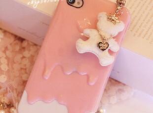 ~ ♥超诱惑の雪糕iphone4/4S通用情侣手机壳♥ 5色入,手机壳,