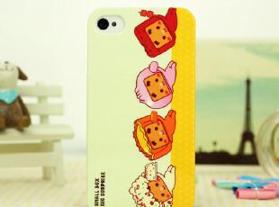 皇冠正品苹果iPhone4s手机壳卡通张小盒iPhone4外壳苹果4保护套,手机壳,