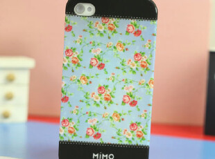 热卖米墨Mimo苹果iphone4s手机壳iPhone4外壳子田园碎花保护套,手机壳,
