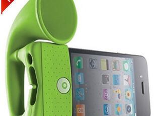 台湾BONE iPhone4 4S大喇叭 硅胶套 扩音器 底座音响功能,手机壳,
