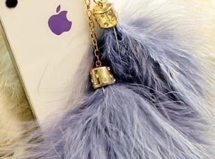 韩国进口 防尘塞iphone4 羽毛手机防尘塞(基本手机都可以) 2色,手机壳,