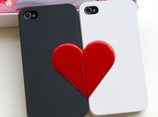 韩国新款配件iphone4s 手机壳 潮iphone4手机壳 情侣手机套 周边,手机壳,