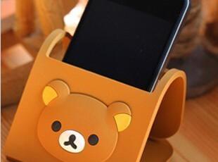 iPhone4 4S轻松熊 大嘴猴 手机支架 卡通 手机座 手机底座 创意,手机壳,
