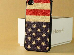 苹果4 iphone4s手机壳潮 保护壳 创意礼品 男 女 国旗系列 正品,手机壳,