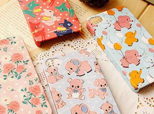 韩国● 苹果手机壳 梦幻小象 chocolabel Cutie iphone 4/4S,手机壳,
