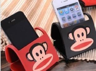 大嘴猴 底座 轻松小熊 iphone4手机支架 支架 卡通底座 苹果配件,手机壳,