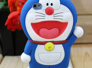 立体哆啦A梦 苹果iPhone4手机壳 叮当猫 iphone4s手机壳 卡通外壳,手机壳,