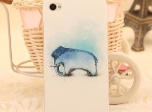 包邮 AppCase 韩国风大象 iphone4 4S  外壳手机套手机壳保护套,手机壳,