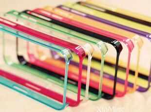 全店批发 超薄透明边框iphone4手机壳iphone4s保护套外壳苹果外套,手机壳,