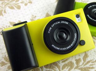 日本 icam icamera 复古相机壳造型 苹果iPhone 4 手机套 4s外壳,手机壳,