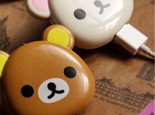 Rilakkuma轻松熊ipod/iPhone4/ipad 2/USB数据线充电器电源线 特,手机壳,