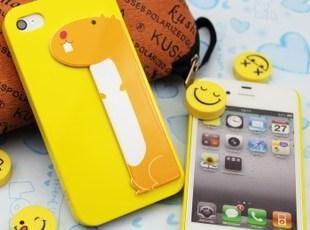 潮个性ipup iphone4创意狗狗可插卡保护壳 苹果4S可爱手机套外壳,手机壳,