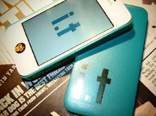 IT荧光香港潮牌苹果保护套 iphone4 手机壳 苹果4s情侣手机壳 套,手机壳,