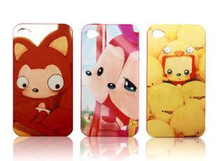 正版 阿狸 Iphone4 4S 套 硅胶苹果外壳保护壳手机壳,手机壳,