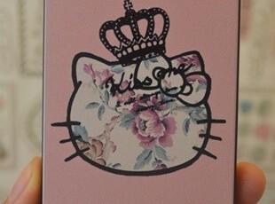复古玫瑰花 kitty 我是女王  iphone4/4S 手机保护壳 外壳 仿刮花,手机壳,