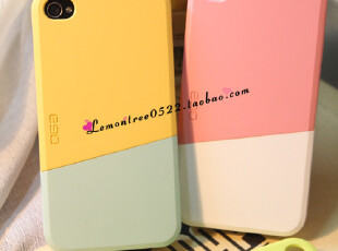 iphone4 4s 糖果色 情侣 韩国进口 雪糕 磨砂手机壳 外壳,手机壳,