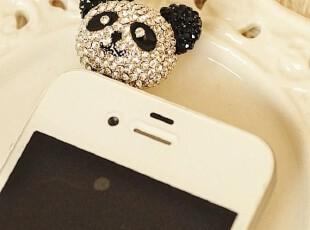 批发 韩国热销 苹果4代 HTCg11 三星5830 iphone4/4s 防尘塞 水钻,手机壳,