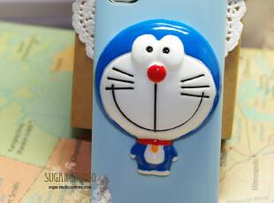 iPhone4 4S苹果手机壳多啦A梦 保护壳外壳 立体公仔机器猫蓝胖子,手机壳,