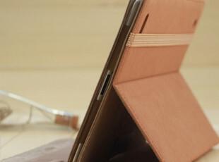包邮 磨砂牛仔纹 ipad2保护套 ipad3保护套休眠 new ipad3皮套,手机壳,