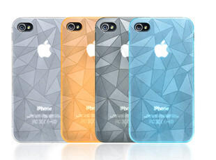 ROCK洛克 苹果4代 iphone 4 4s 极薄外壳 手机套 保护壳 保护套,手机壳,
