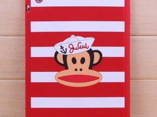 for ipad2/ipad3 大嘴猴硅胶套 苹果保护套 可爱卡通猴背套 软壳,手机壳,