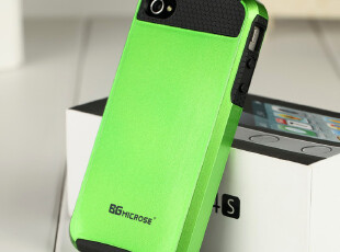 BG微络斯 苹果iphone4/4s手机壳保护壳 防摔 2012新款个性手机套,手机壳,