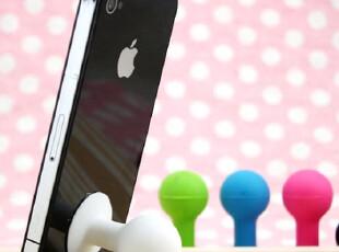 苹果iPhone 4S/3GS iPad 2 Touch 4代 配件 球形章鱼支架/底座,手机壳,