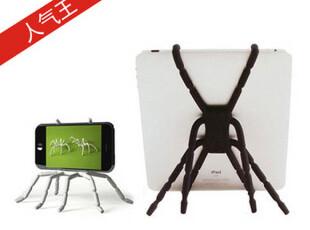 万能蜘蛛 ipad支架 ipad3/2支架车载平板iphone4/4S支架 通用苹果,手机壳,