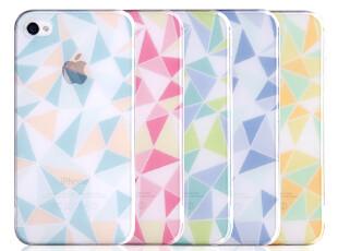 ROCK洛克苹果iPhone4 iPhone4s手机壳手机套保护壳保护套琉璃超薄,手机壳,