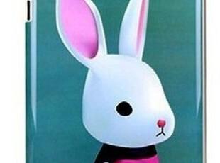 韩国 兔狮子熊猫咪 苹果ipad2 背壳 ipad3保护套  后盖 个性可爱,手机壳,