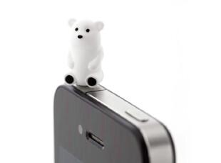 原装台湾Bone 卡通造型 耳机防尘塞 3.5mm适用 Ear Cap,手机壳,