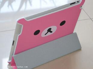 the new ipad 2 3 保护套 保护壳 轻松熊外壳 smart cover外壳,手机壳,