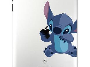 史迪仔贴膜 苹果iPad2创意贴纸 ipad3个性配件 sdh1不留胶,手机壳,