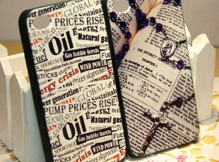 苹果4 iphone4 手机壳 保护壳 时代新闻 书页 老派风格 怀旧 唯美,手机壳,