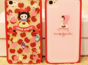 童话 梦幻甜美系列 小红帽 白雪公主 奢华风 iphone 44s 手机壳,手机壳,