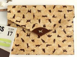 包邮 韩国jetoy Macbook air 11寸笔记本电脑包IPAD包猫咪文件包,手机壳,