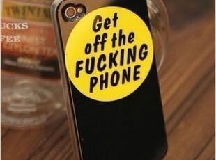 陈冠希同款iphone44s手机壳手机套外壳保护壳保护套潮牌潮人包邮,手机壳,