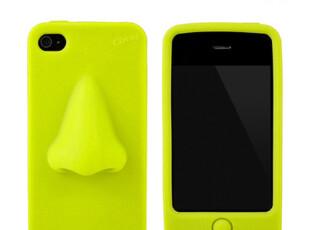 预约日本 重口味 鼻子造型 iPhone4S/4 硅胶手机壳保护套《314-34,手机壳,