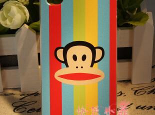 七彩大嘴猴 苹果4S保护壳 防刮伤彩绘保护壳 iphone4S保护套彩壳,手机壳,
