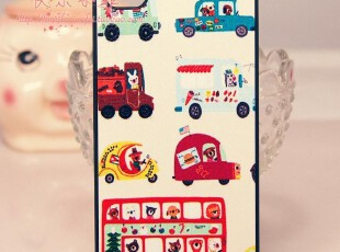 iphone 4 iphone4s  汽车 平滑皮质感 复古风格  手机壳 保护壳,手机壳,